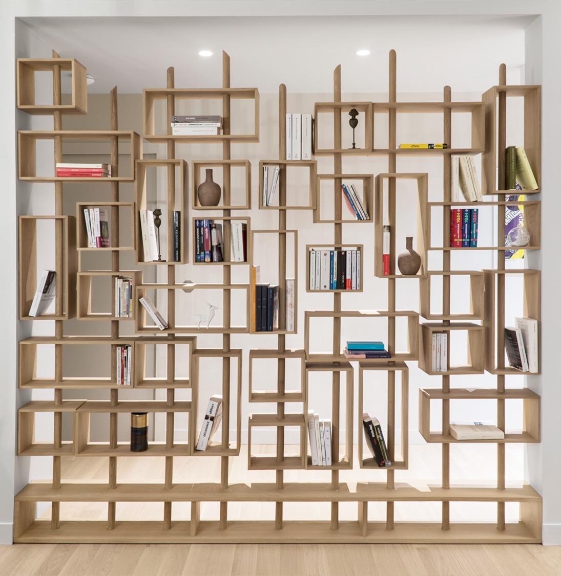 bibliothèque sur mesure meuble made in France