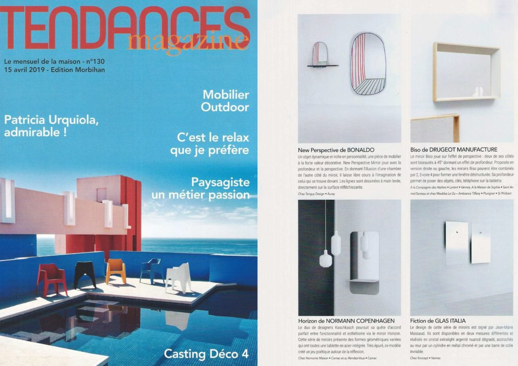 catalogue tendances magazines avril 2019 miroir design original