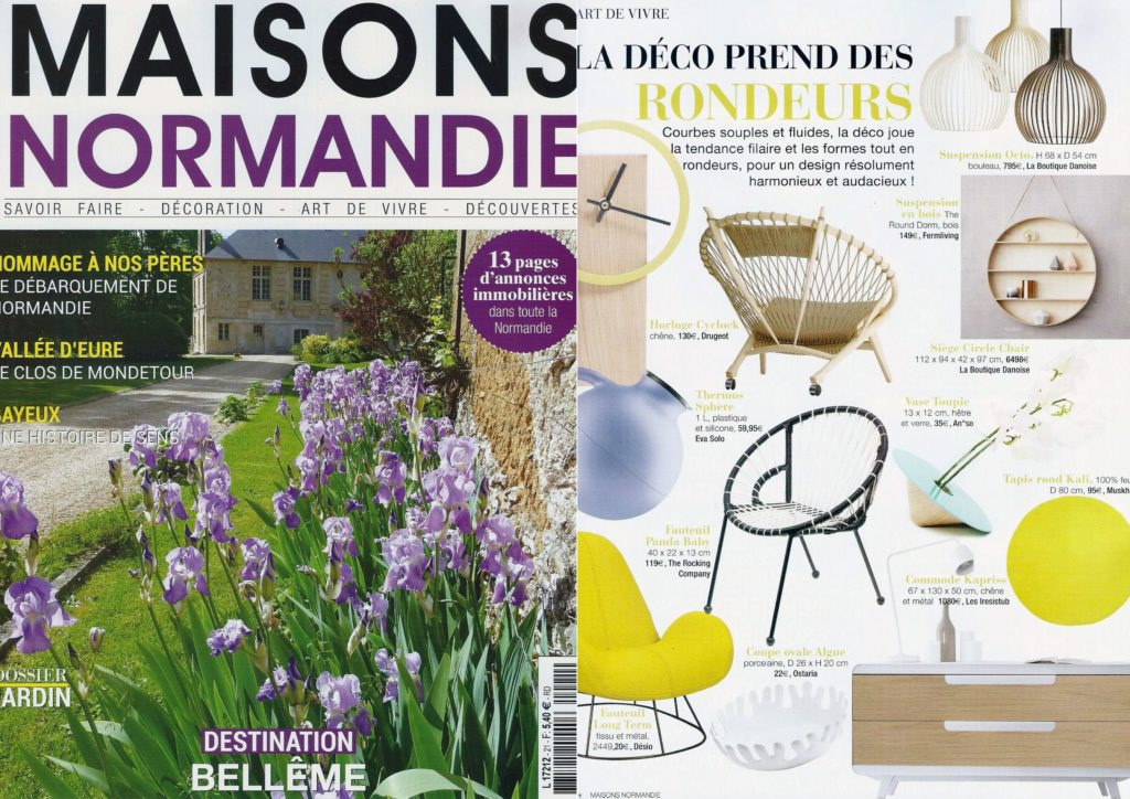 article maisons normandie