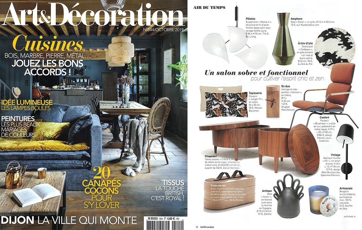 magazine art et décoration