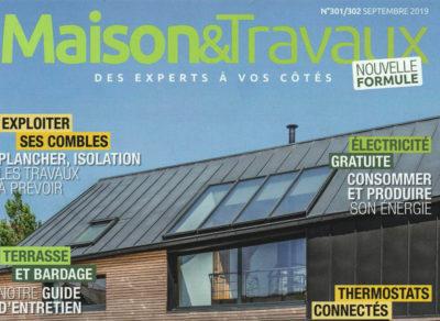 MAISON&TRAVAUX – Septembre 2019