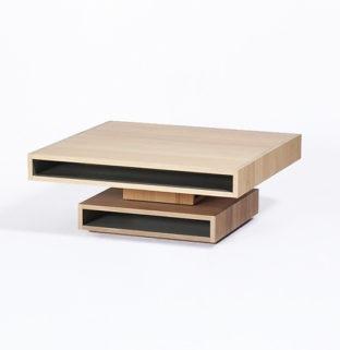 table basse cubocarre drugeot manufacture bois massif
