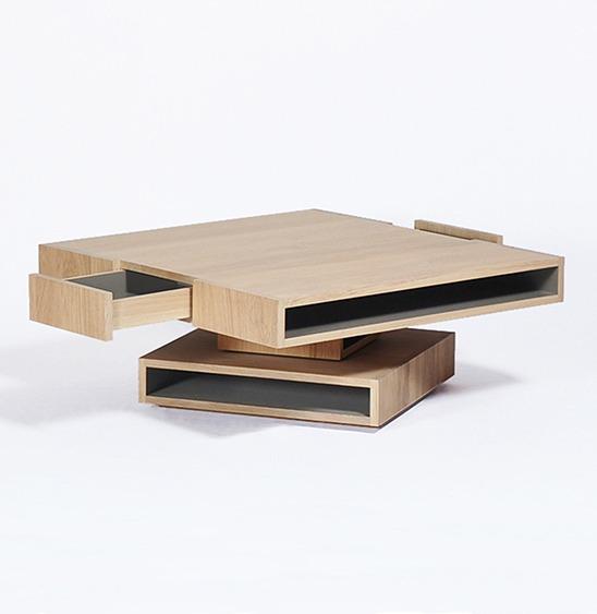 table basse cubocarre pivot