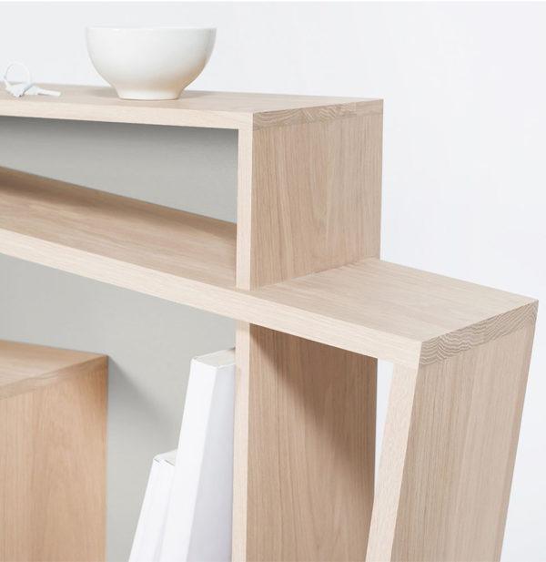 Console design artisanat Français savoir-faire meuble architecte