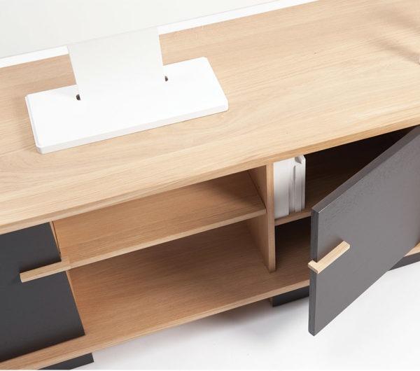 meuble tv ita portes couleurs personnalisables drugeot manufacture