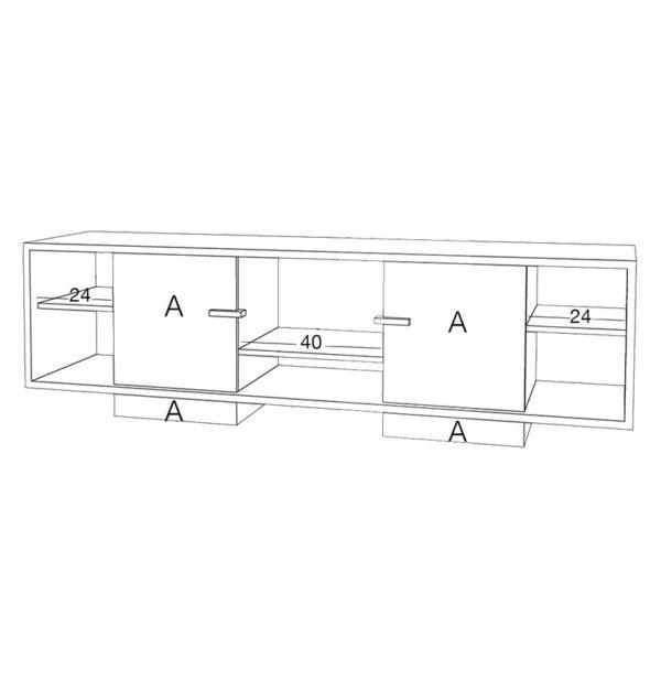 meuble tv ita filaire drugeot personnalisation