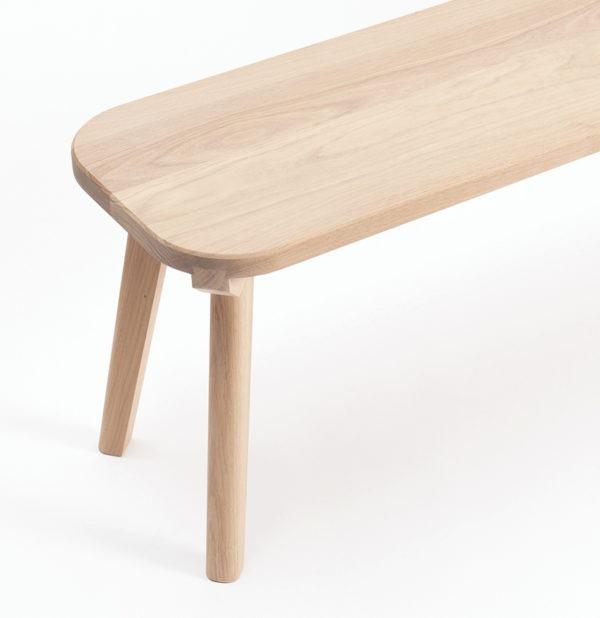 banc aronde drugeot manufacture bois massif avec table