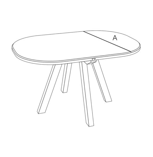 table basse aronde drugeot manufacture filaire