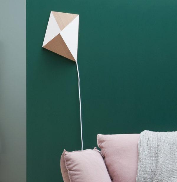 cerf-volant applique luminaire drugeot manufacture ambiance