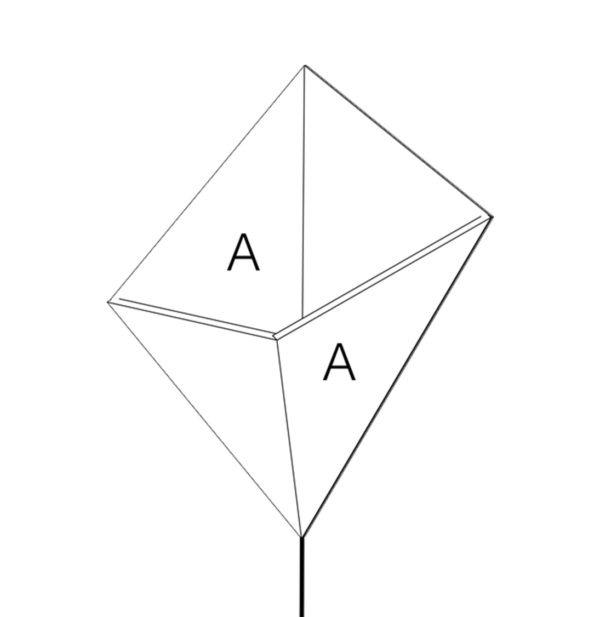 cerf-volant applique luminaire drugeot manufacture filaire