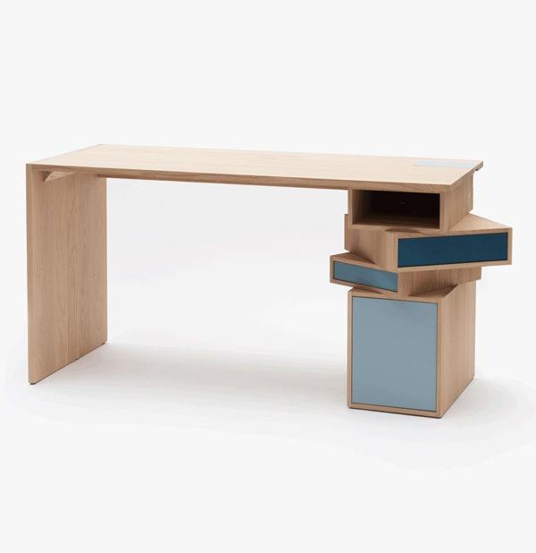 bureau moderne connecté rangement sur-mesure design made in France