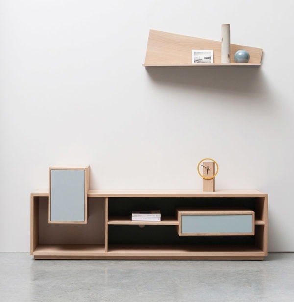mixage tv ambiance meuble mobilier bois fabriquée en France Anjou