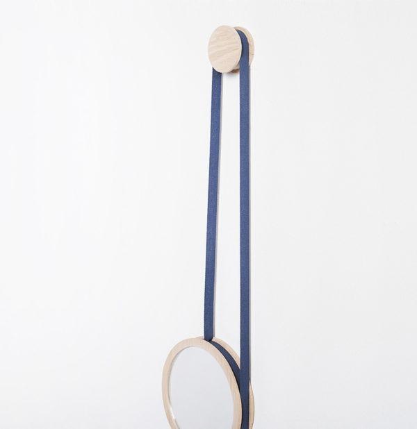 miroir-pendule cordon drugeot choix de couleurs