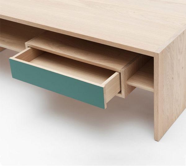 mixage table basse drugeot manufacture tiroir ouvert