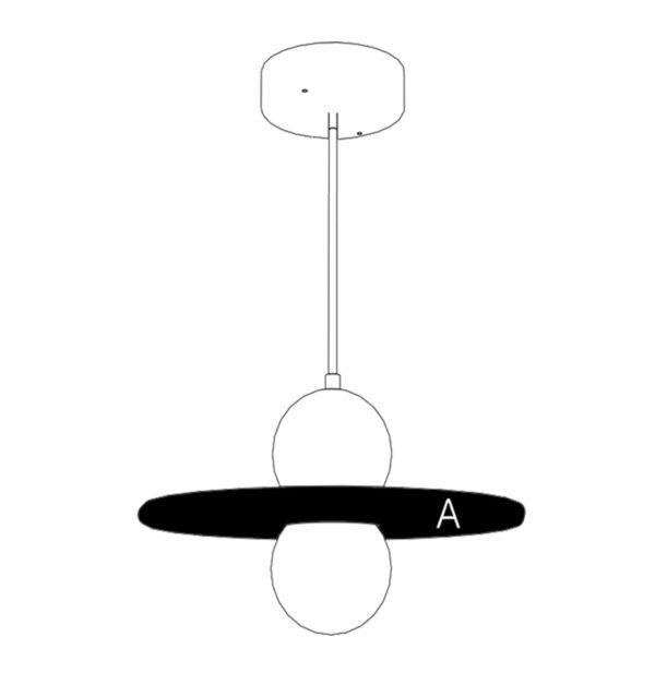 lampe nebuleuse drugeot manufacture filaire