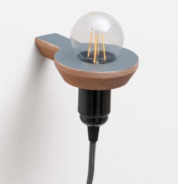 drugeot manufacture neo-bougeoir ampoule applique lumiere