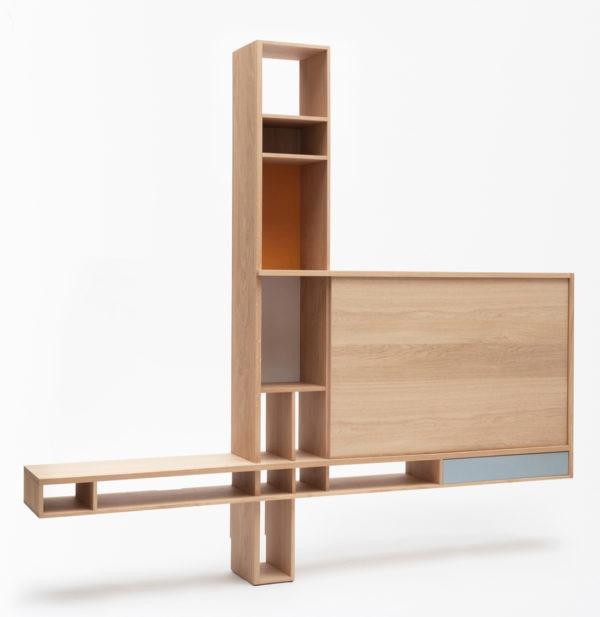 meuble tv bibliothèque ortho