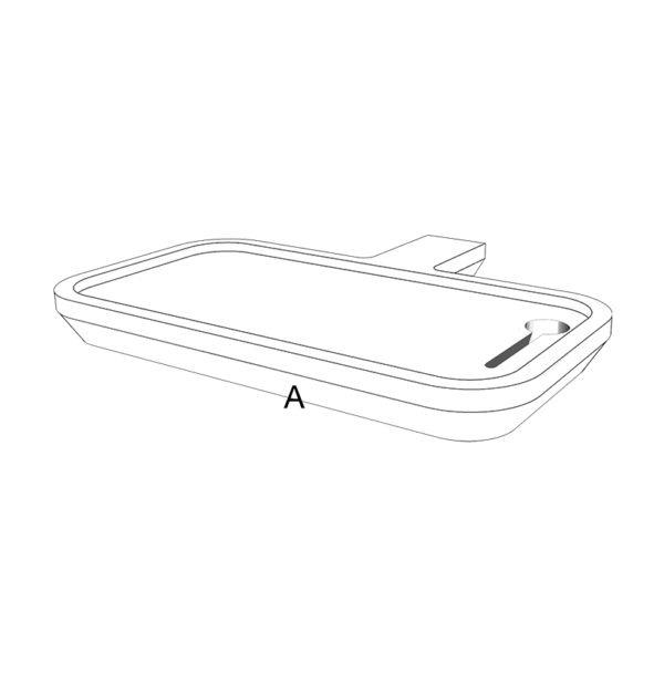 portablette filaire pose portable drugeot manufacture couleur personnalisable