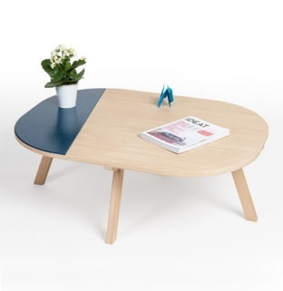 table basse aronde ambiance
