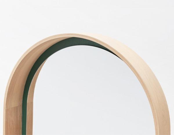 miroir bipede drugeot manufacture arc chene bois massif ecoresponsable