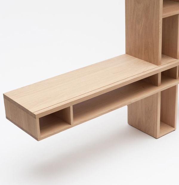 drugeot manufacture mobilier design epure meuble tv ortho niche et tiroir