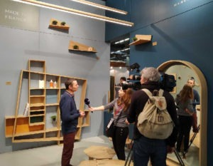 interview journal de 20h tf1 - salon maison et objet