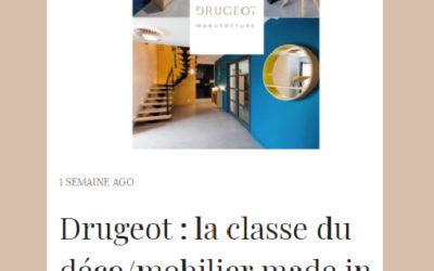 Drugeot Manufacture dans Ô Magazine
