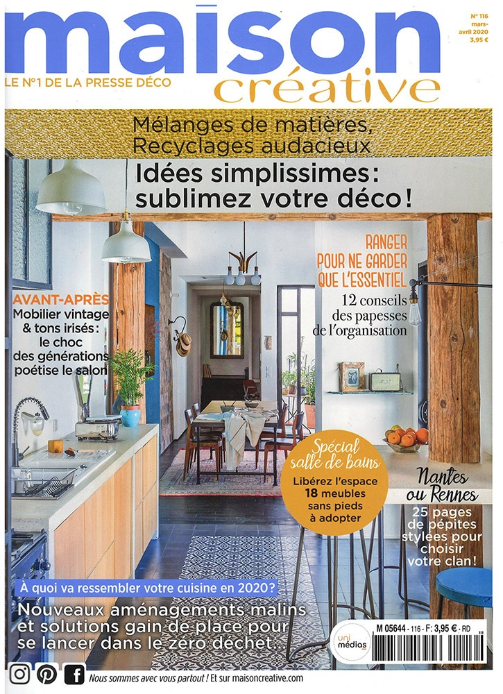 magazine maison creative