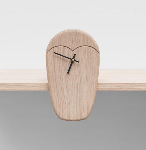 horloge design hibou