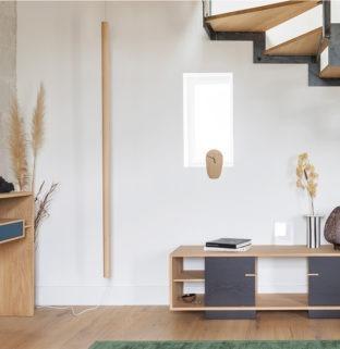 luminaire lustick ambiance suspendu bois design