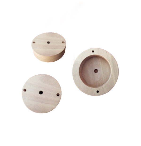 attache rosace luminaire lustick système d'accroche
