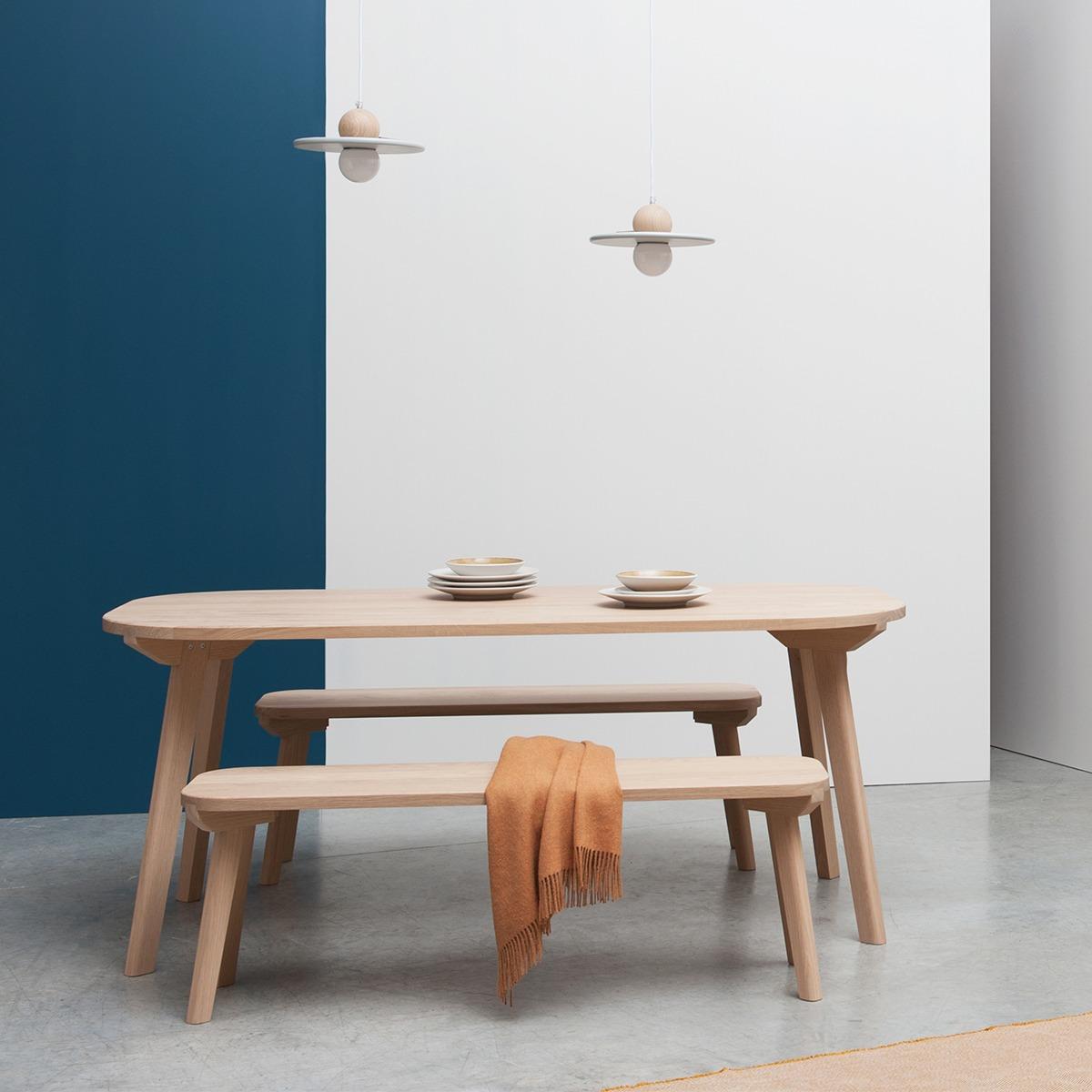 banc en bois table