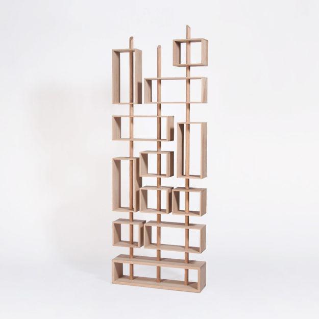 Où trouver une bibliothèque modulable en bois ?