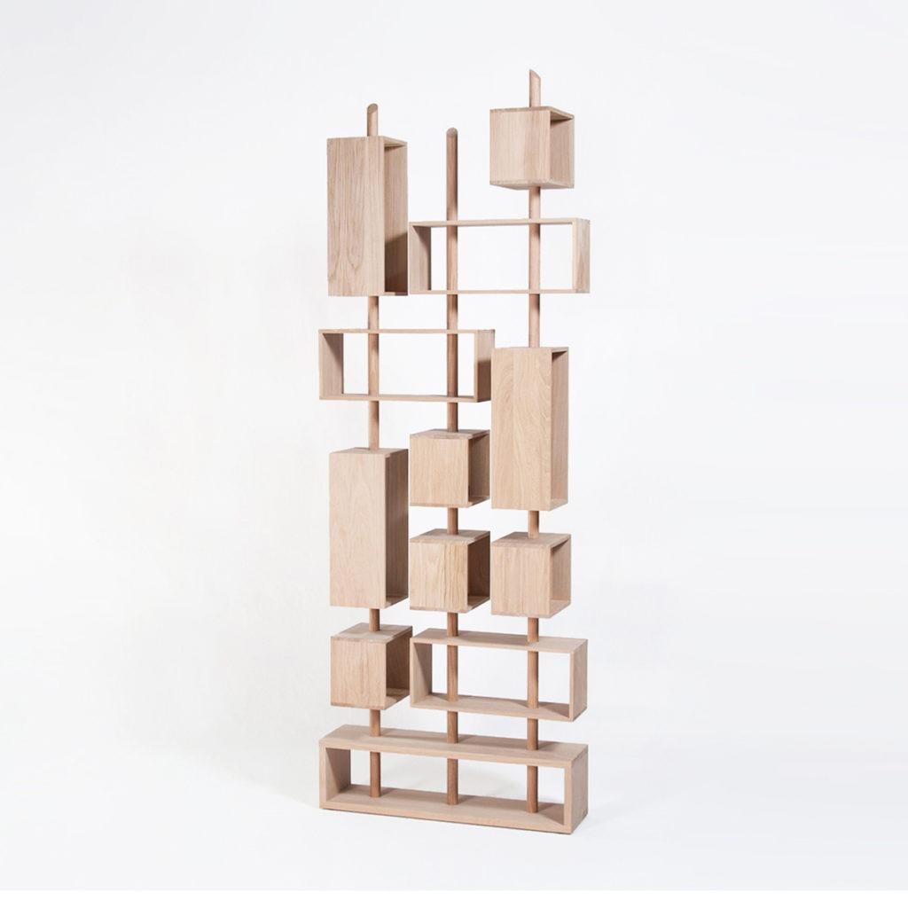 bibliothèque graphique cube suspendu made in France