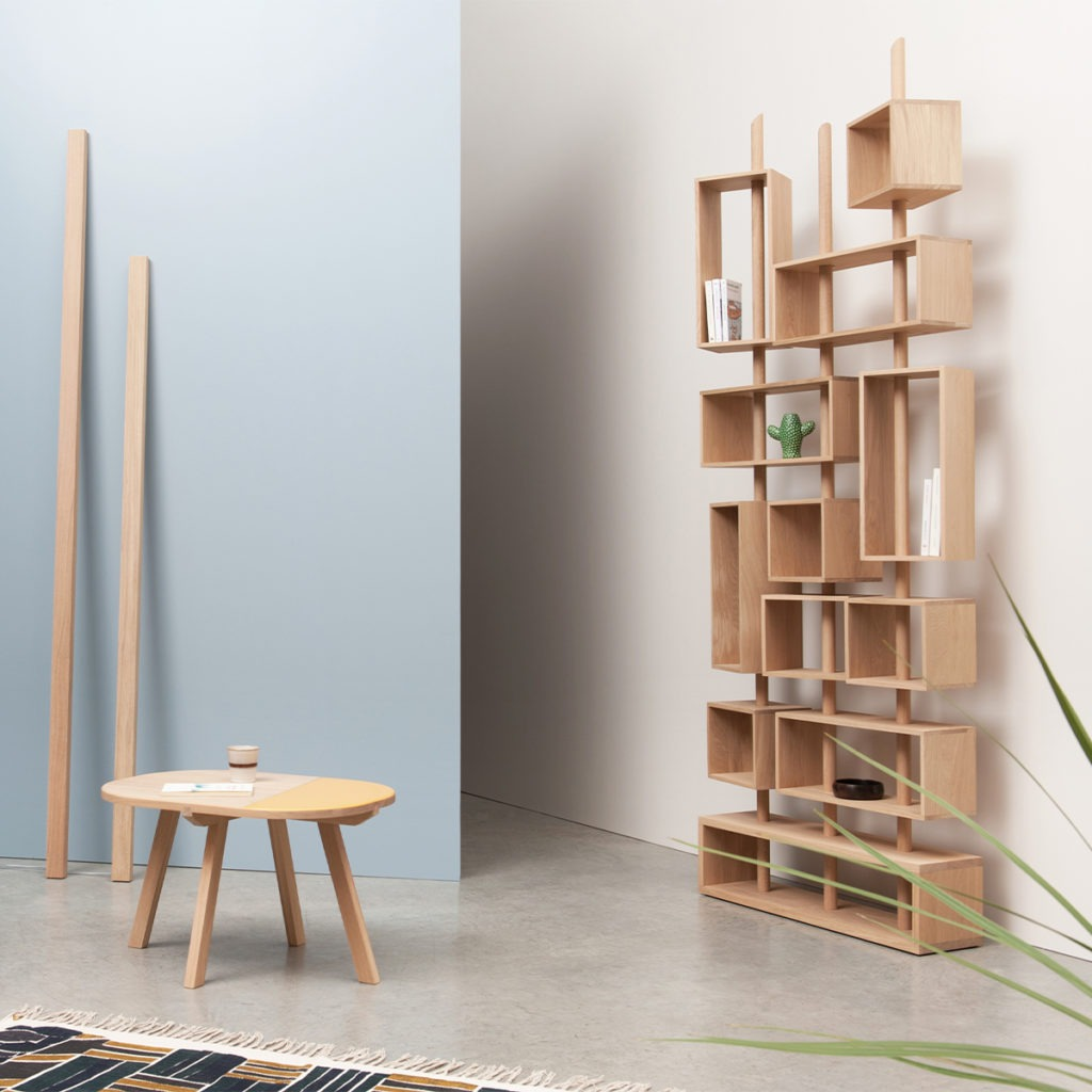 mobilier en bois français artisanat contemporain design salon Drugeot Manufacture