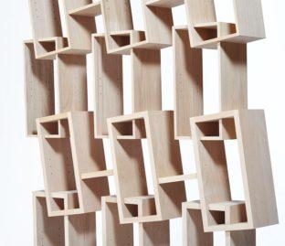 meuble bibliothèque Kao création Drugeot Manufacture