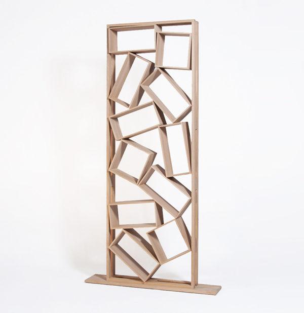 bibliothèque Bric à brac meuble en bois made in France originale