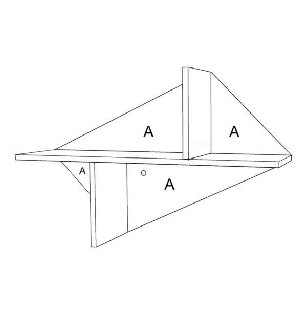 étagère personnalisable couleur schéma filaire sketchup Kim Drugeot Manufacture