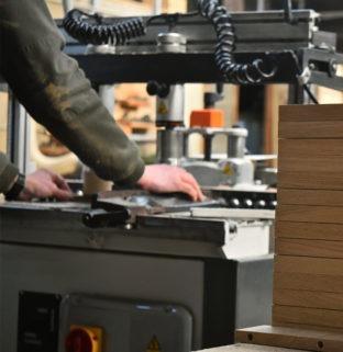 menuiserie ébénisterie angers machine programme meuble design tendance bois naturel massif Drugeot