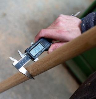 woodworking menuiserie Drugeot Manufacture découpe poteau chêne frêne