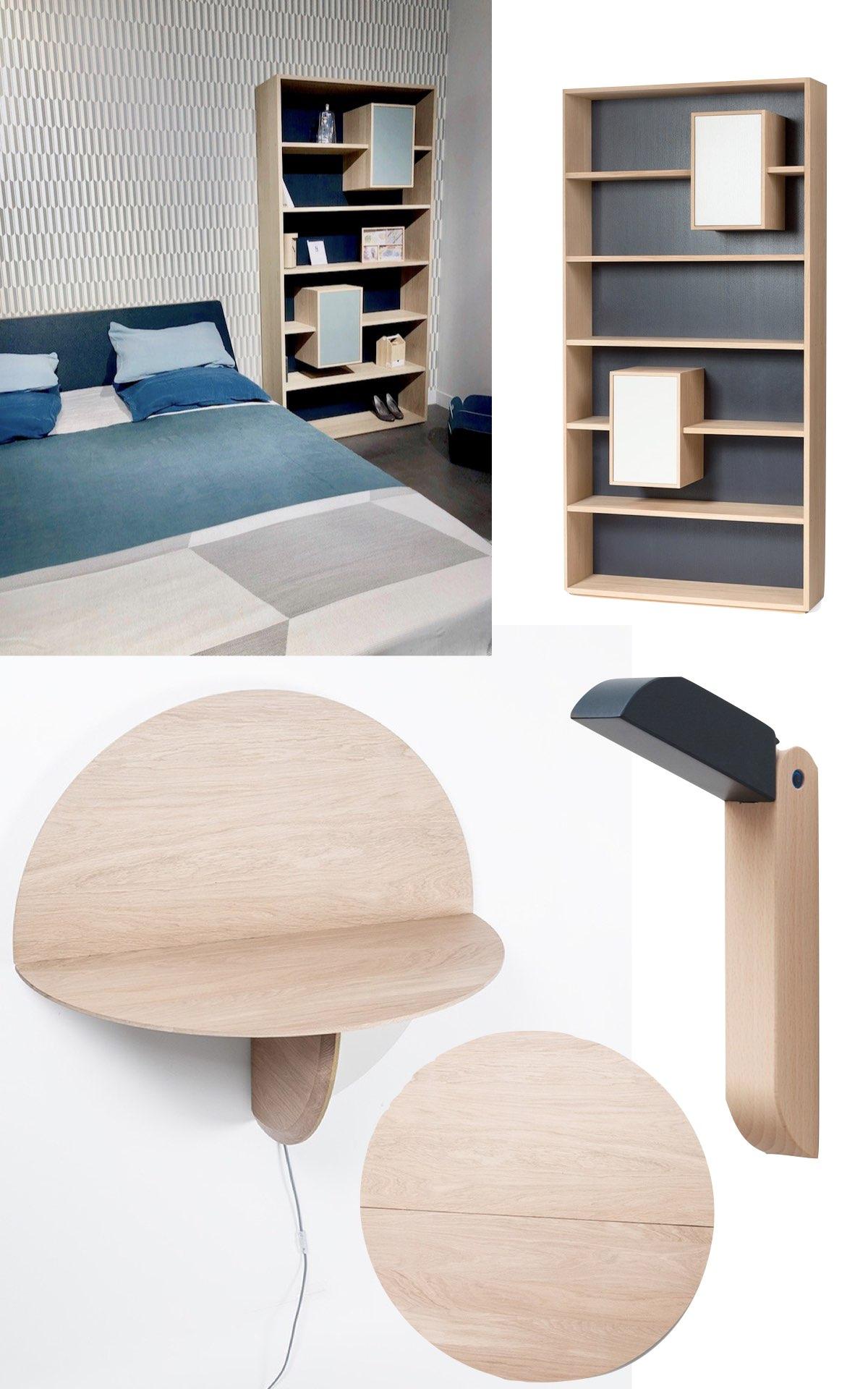 meubler chambre de 10m2 bureau bois massif gain place