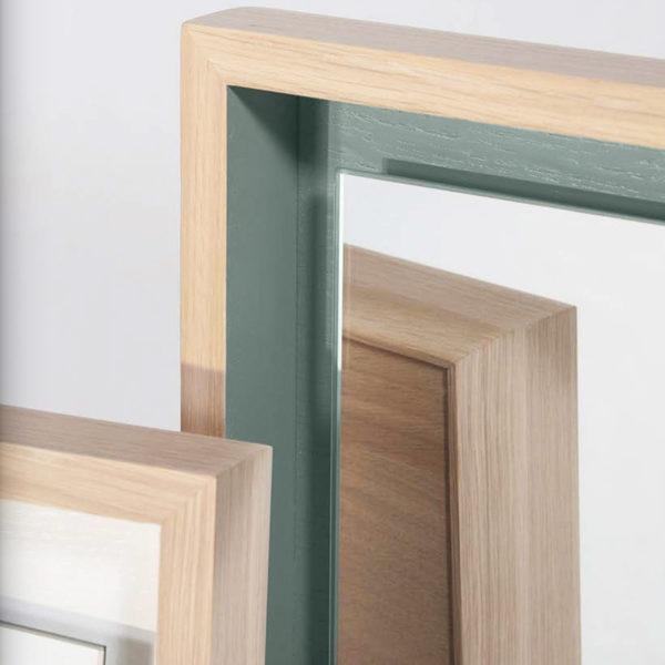 miroir design float blanc coton vert gris manoir2