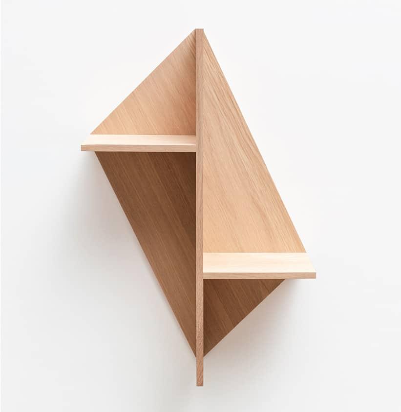 Frédéric Saulou design étagère modulable bois massif