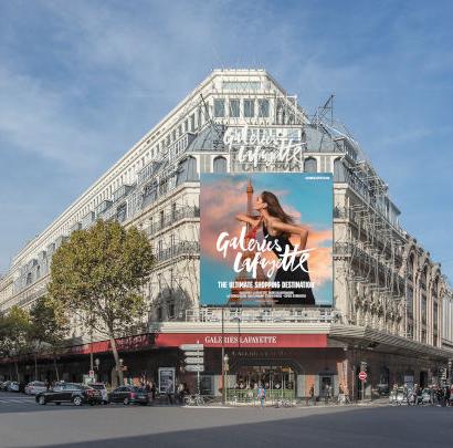 stand temporaire magasin Galerie La Fayette Paris Simon Simone créations Drugeot Manufacture
